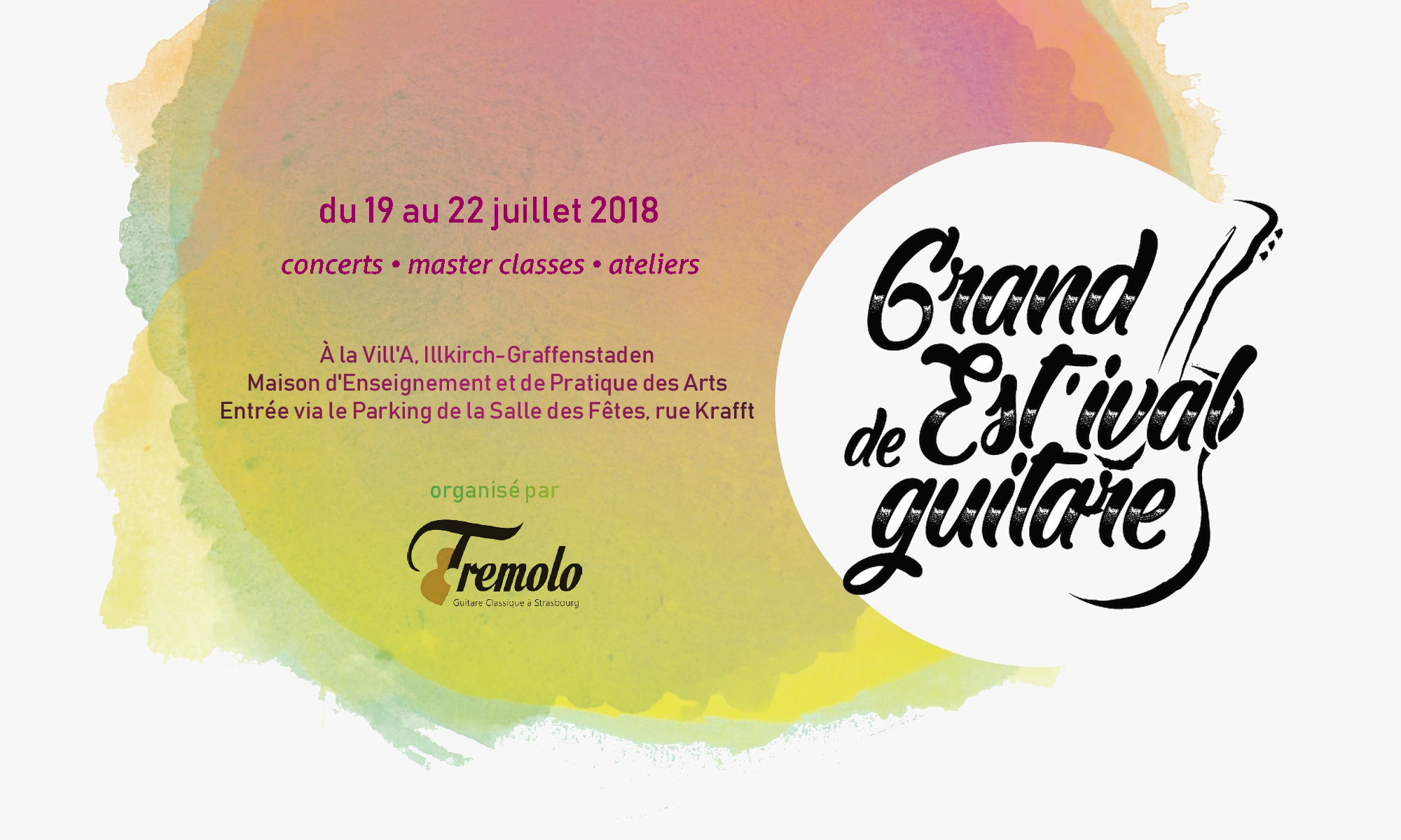Grand Estival de Guitare 2018